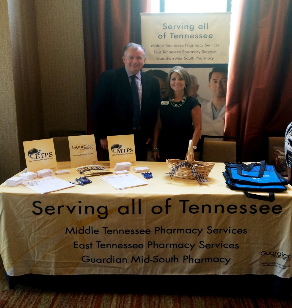 Russ Spivey, co-owner, and Sherry Nix, sales/account manager.